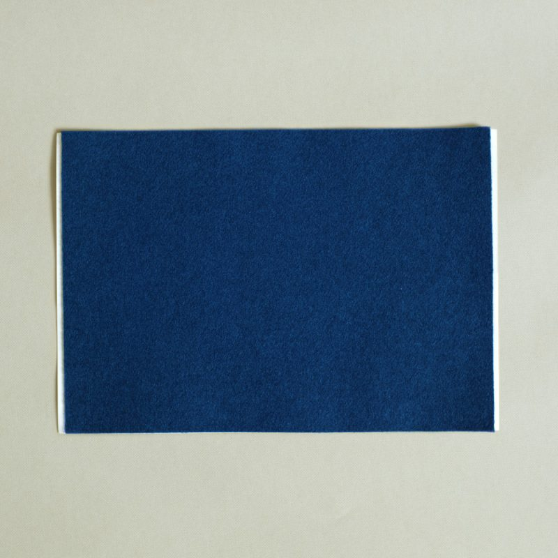 self adhesive blue baize A4 sheet