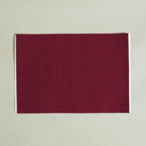 Self Adhesive Baize – Burgundy Red