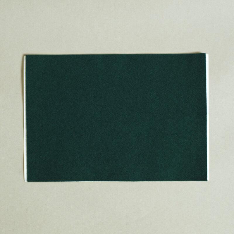 self adhesive cedar green baize A4 sheet
