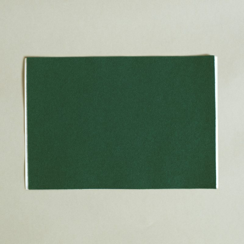 adhesive green baize sheet