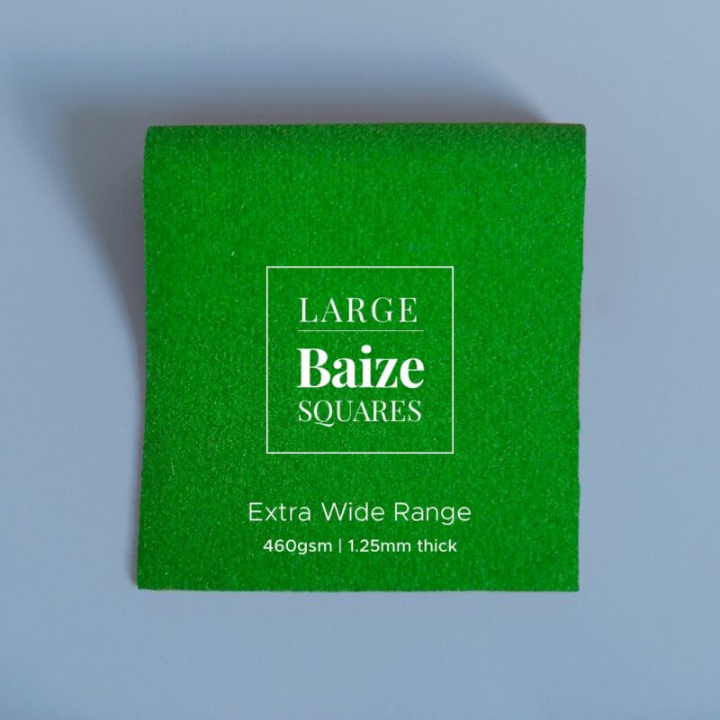 extra wide precut square bright moss green