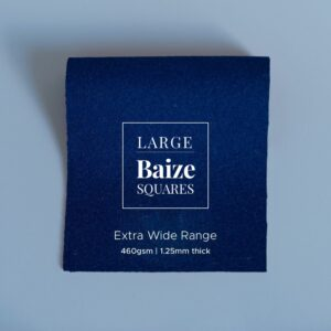 Dark Navy Precut Baize Squares – Card Table Size
