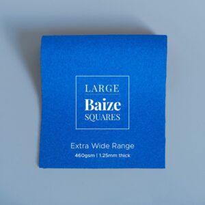 Electric Blue Precut Baize Squares – Card Table Size