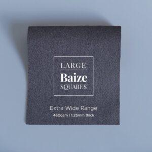 Graphite Grey Precut Baize Squares – Card Table Size