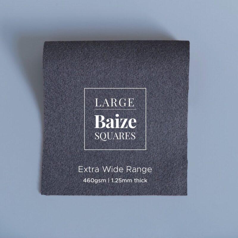 extra wide precut square graphite grey