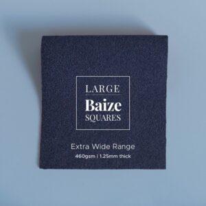 Indigo Precut Baize Squares – Card Table Size
