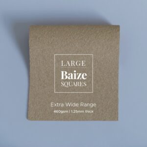 Light Tan Precut Baize Squares – Card Table Size