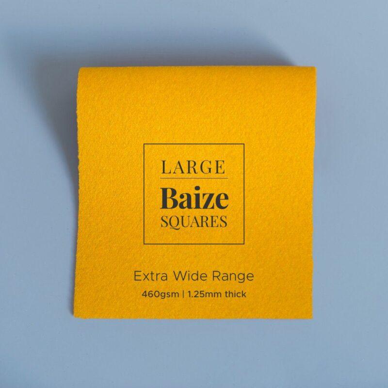 extra wide precut square pollen yellow