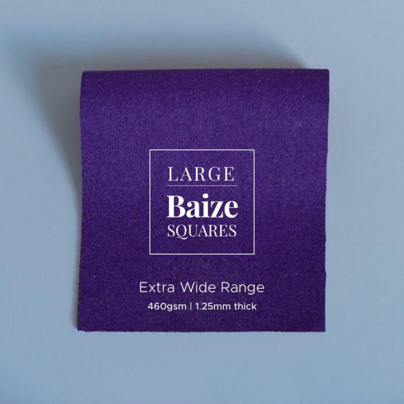 extra wide precut square purple