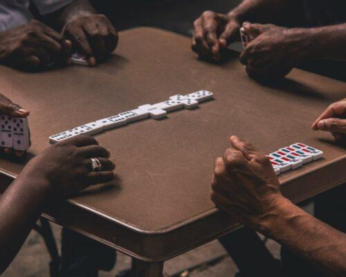 Domino Table Fabric